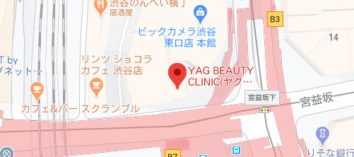 YAG BEAUTY CLINIC地図