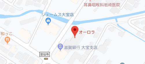 ふじもと医院  ドクターズエステオーロラ地図
