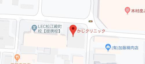 かじクリニック地図