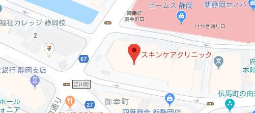 医療法人美静会 スキンケアクリニック地図