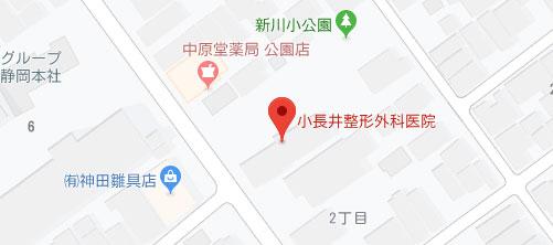 小長井整形外科医院地図