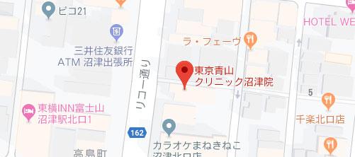 東京青山クリニック 沼津院地図