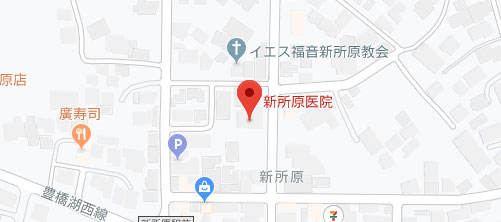 新所原医院地図