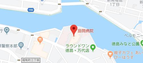 田岡病院地図