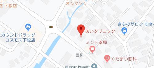 あいクリニック地図